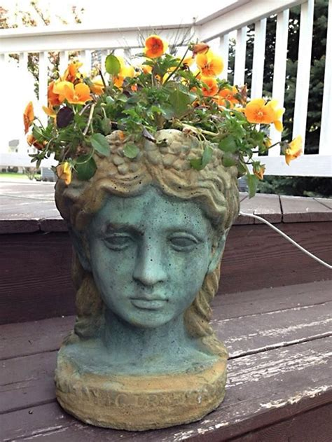 head planter pots for sale garden pots head planter pots adastra