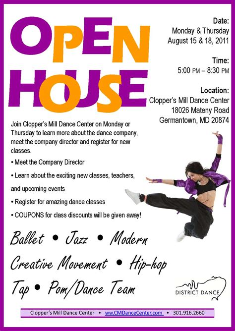 6 best images of open house flyer open house flyer