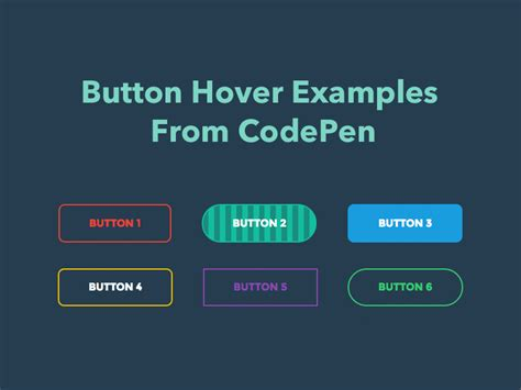 making css rollover buttons button hover exles from codepen freebie supply