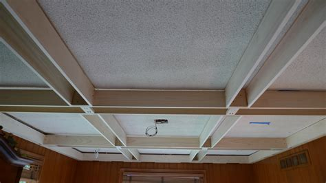 poplar coffered ceiling probuilt woodworking
