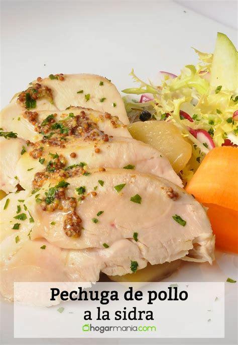 hogarutil hoy cocinas tu receta de pechuga de pollo a la sidra isma prados
