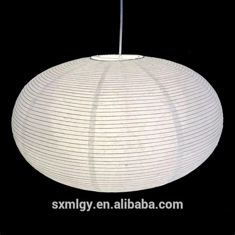 hanging paper l shades quot oval l shade shades of light lights and ls