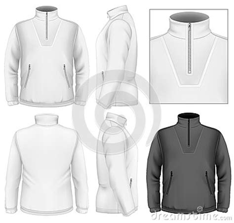 Men S Fleece Sweater Design Template Royalty Free Stock Photography Image 33503567 Sweater Design Template