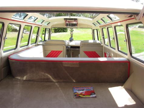volkswagen old van interior vw bus interior google haku vw bussit pinterest vw