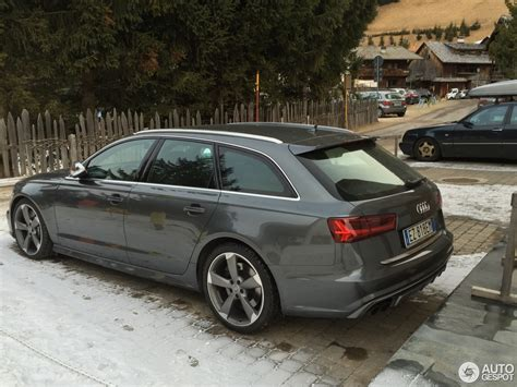 Audi 2015 S6 by Audi S6 Avant C7 2015 3 January 2016 Autogespot