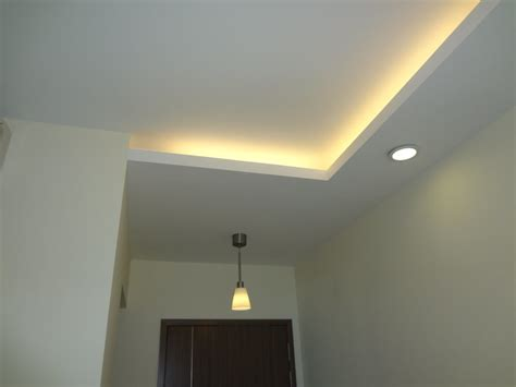l in a box ceiling false ceilings l box partitions lighting