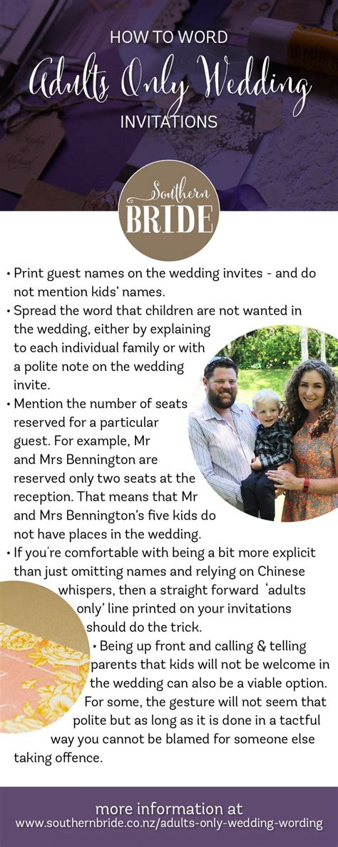 wedding invitation wording adults only how to tell guests you are an adults only wedding southern