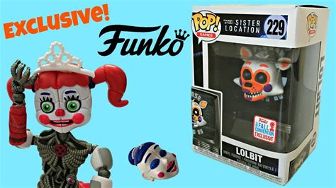 Funko Pop Fnaf Location Lolbit Nycc Exclusive 229 fnaf lolbit funko pop exclusive location 229 unboxing review stop motion