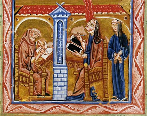 hildegard of bingen and musical reception the modern revival of a composer books fifth vision hildegard of bingen wikiart org
