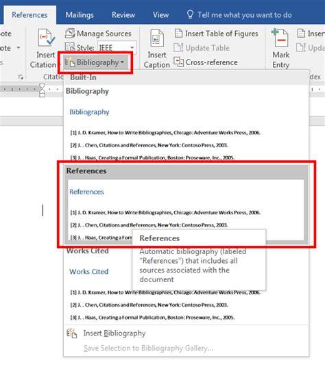 membuat daftar pustaka otomatis word cara membuat daftar pustaka otomatis di ms word