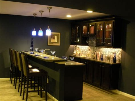 home back bar ideas basement bar back wall cabinet layout and lights this