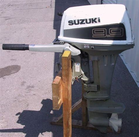Used Suzuki Boat Motors Used Suzuki 9 9 Hp Outboard Boat Motor Suzuki Outboards