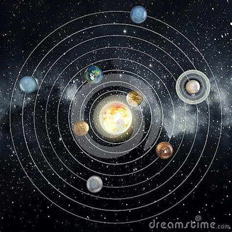 3d solar system diagram solar system stock illustration image 50255743