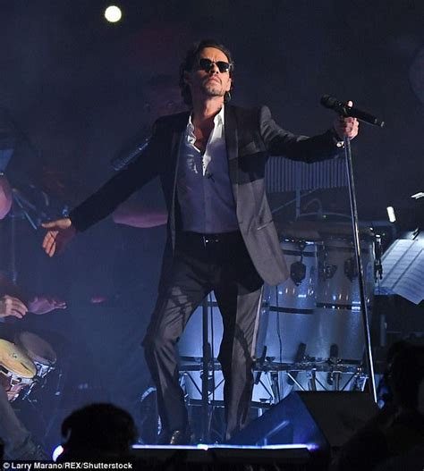 Are Marc Anthony On The Rocks by Marc Anthony Takes To Stage Two Days After His S