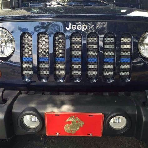 jeep flag flag grill insert for jeep wrangler ideas