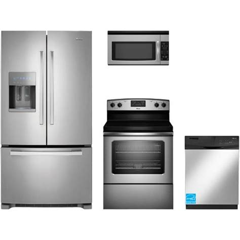 amana kitchen appliances amana afi2539erm stainless steel complete kitchen package