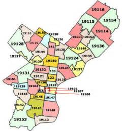 Philly Zip Code Map by 404 Not Found