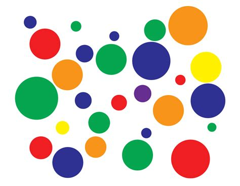 color dots preschool color graph the b keeps us honest