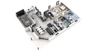 plan moderne 3d