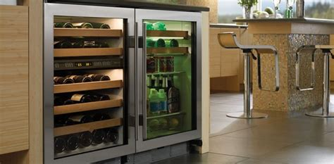 under cabinet beverage refrigerator sub zero 24quot undercounter beverage center contemporary