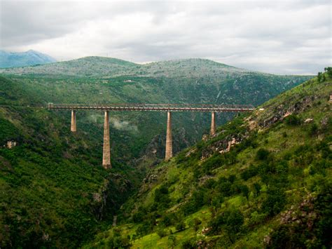 Mba In Serbia by The Mala Rijeka Viaduct In Montengro Crossed This