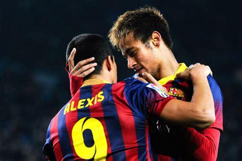 alexis sanchez neymar alexis sanchez pictures fc barcelona v villarreal cf