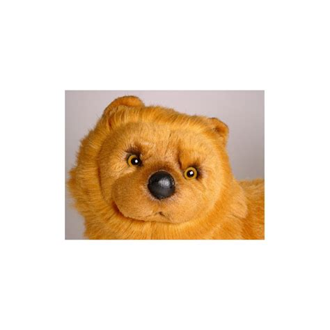 cinnamon dogs cinnamon chow chow stuffed plush realistic lifelike lifesize animal display prop
