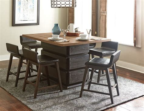counter height dining room furniture homelegance 5435 36 rochelle counter height dining room set
