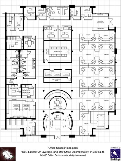 Modern Office Floor Plans | modern floorplans single floor office fabled
