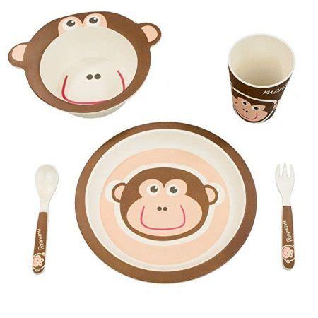 Animal Tableware Bamboo Fiber Part 1 mbf eco bamboo fiber animal pattern dinnerware sets for
