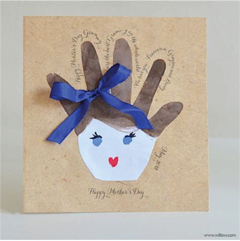 preschool card ideas willowday s day handprint cards