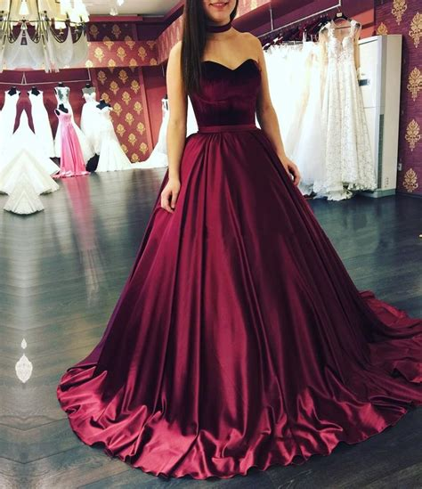 Wedding Dress Maroon maroon wedding dresses www imgkid the image kid