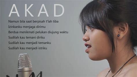 download mp3 akad cover hanin akad payung teduh cover hanin dhiya lirik youtube