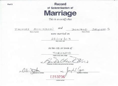 How To Find Marriage Records In Canada Didn T Show Up At Refugee Hearing Getting Married This