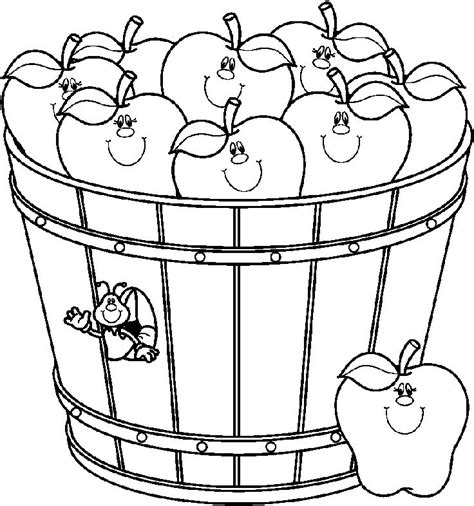 apple barrel coloring pages apples barrel bw bmp 850 215 908 teacher s clip art and