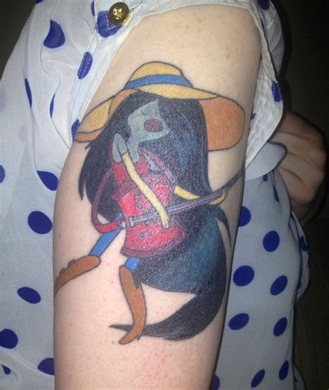 adventure tattoo i m just your marceline adventure time