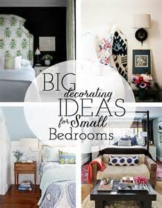 Decorating Ideas For Small Bedrooms by Working With A Small Master Bedroom Emily A Clark