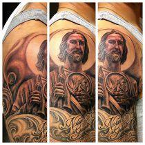 imagenes tatuajes san judas tadeo tatuajes de san judas tadeo historia significados