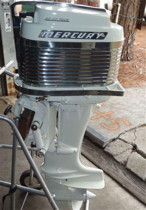 old boat motors values mercury merc 350 40 hp antique vintage outboard for sale