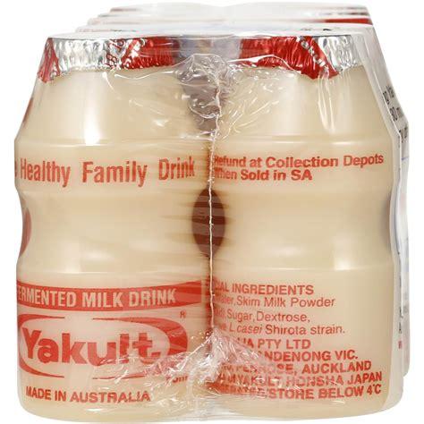 energy drink yakult yakult probiotic drink 10x65ml woolworths