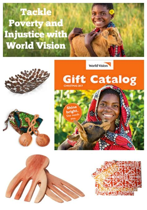 tackle poverty and injustice with world vision