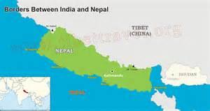 India Nepal Map by Nepal Map Map Of Nepal Nepal Tour Map Tibet Vista