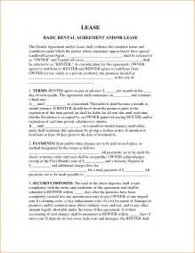 8 simple rental agreement form printable receipt