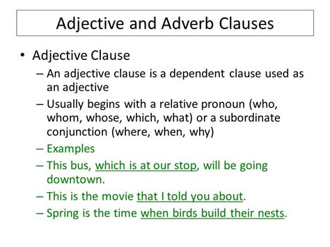 sentence unit list of terms and exles ppt video