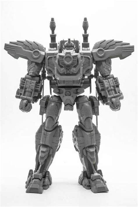 Transprojectx Beast Commander Gorilla Gray Prototype