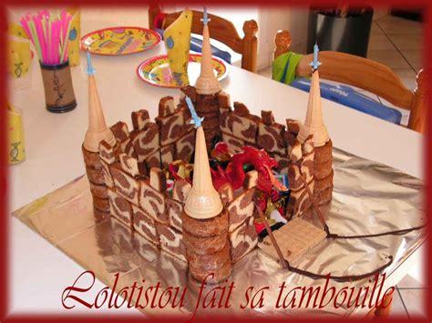 gâteau CHATEAU FORT - LOLOTISTOU FAIT SA TAMBOUILLE Gateau De