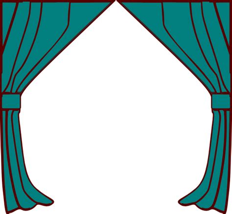 curtain clip art curtains clip art at clker com vector clip art online