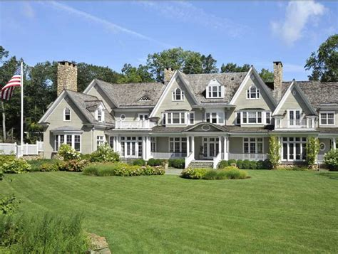 Story And A Half House by 17 Million Colonial Mansion In Greenwich Ct Homes Of