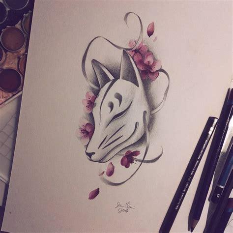 japanese fox tattoo best 25 kitsune mask ideas on japanese fox