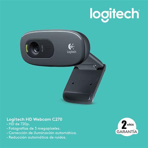 imagenes camara web logitech camara web logitech c270 720p microfono usb fotos 1 3mp